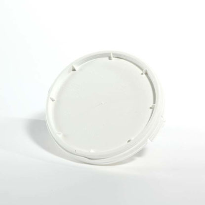 Picture of 1.2 Gallon White HDPE Screw Top Cover, UN-Rated