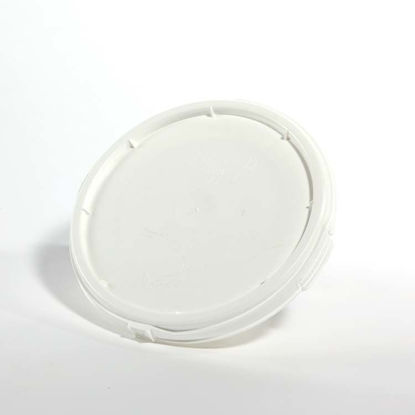 Picture of 2.5 Gallon White HDPE Screw Top Cover, UN-Rated