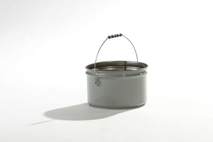 Picture of 2.5 Gallon Gray Open Head Pail, Rust Inhibited, 1A2/Y2.0/100