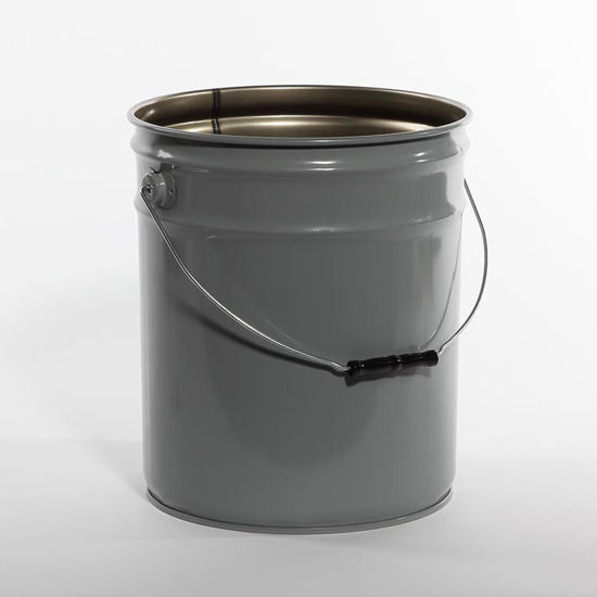 Picture of 5 Gallon Gray Open Head Pail, Rust Inhibited, 1A2/Y1.8/100