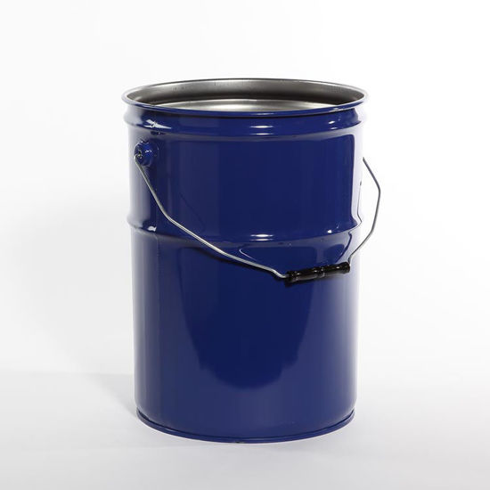 Picture of 6 Gallon Blue Open Head Pail, Rust Inhibited