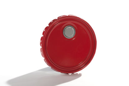 Picture of 2.5-7 gallon Red Lug Cover, Rust Inhibited w/ Flex Spout (24 Gauge)