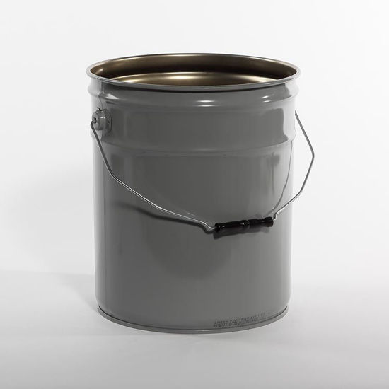 Picture of 5 Gallon Gray Open Head Unipak Pail, Rust Inhibited, 1A2/Y1.6/50