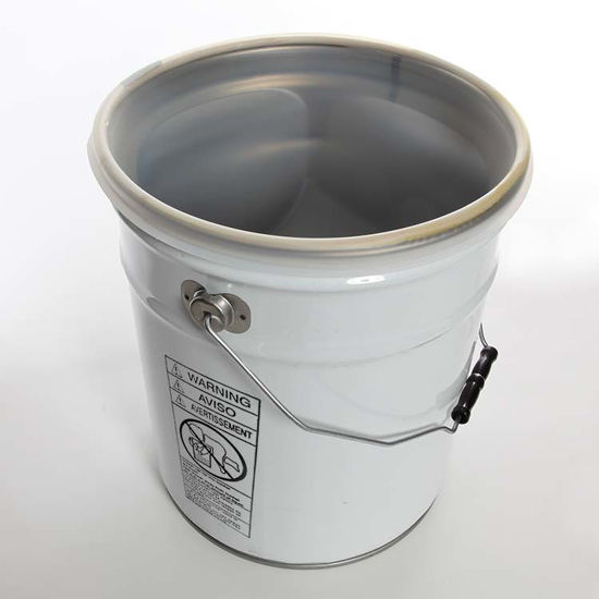 Picture of 6 Gallon White Open Head Unipak Pail, Rust Inhibited, 1A2/Y1.5/50