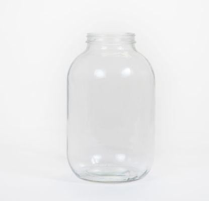 Picture of 128 oz Flint Wide Mouth Jar, 89-400, 4x1