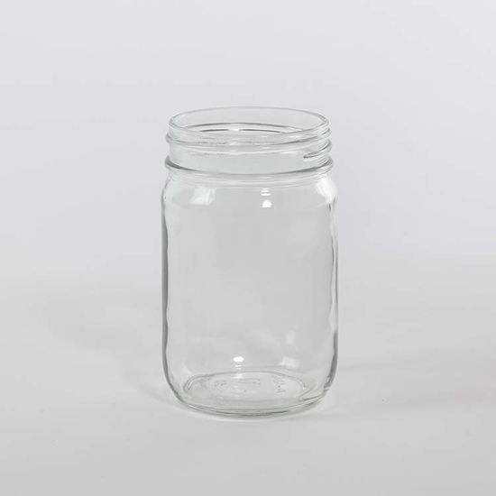 Picture of 12 oz Flint Mayo Jar, 70-450G, 12x1