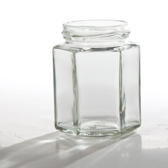 Picture of 6.4 oz Flint Hex Jar, 58-2030 Twist, 12x1