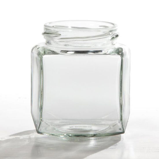 Picture of 9 oz Flint Hex Jar, 63-2030 Twist, 12x1