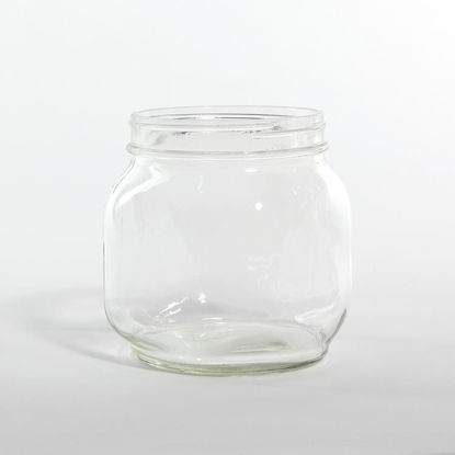 Picture of 60 oz Flint Square Jar, 120-400, 6x1