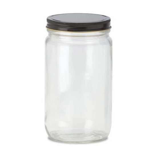 Picture of 32 oz Flint Straight Side Jar, 89-400, 12x1