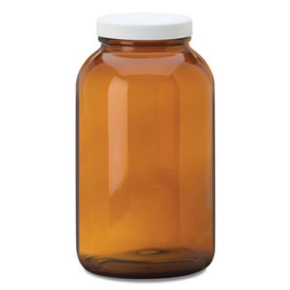 Picture of 2500 cc Amber Packer Jar, 70 mm, 12x1