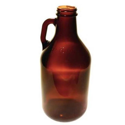 Picture of 32 oz Amber Growler Jug, 38-400, 12x1