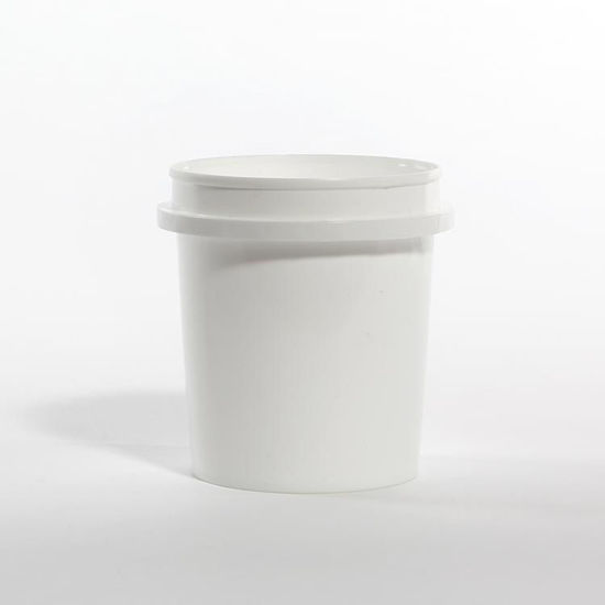 Picture of 16 oz White HDPE Vapor Lok Tub