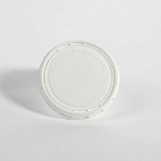 Picture of 8 oz White HDPE Vapor Lok Cover