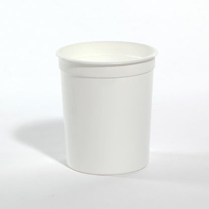 Picture of 32 oz White PP Tub