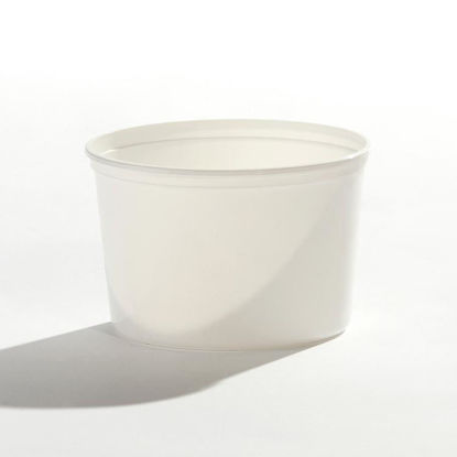 Picture of 64 oz White PP Tub