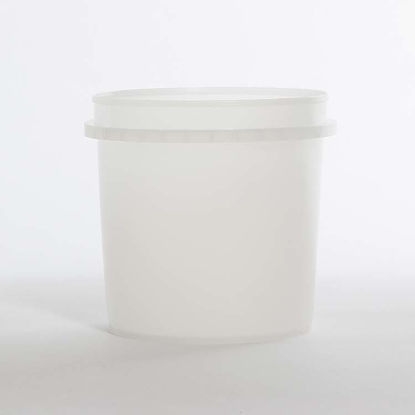 Picture of 32 oz Natural HDPE Vapor Lok Tub