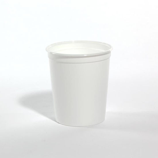 Picture of 32 oz White HDPE Tub