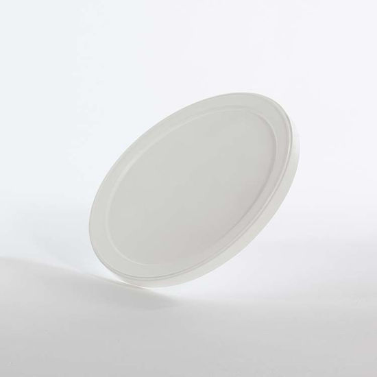 Picture of 58-92 oz Natural LDPE Flat Lid