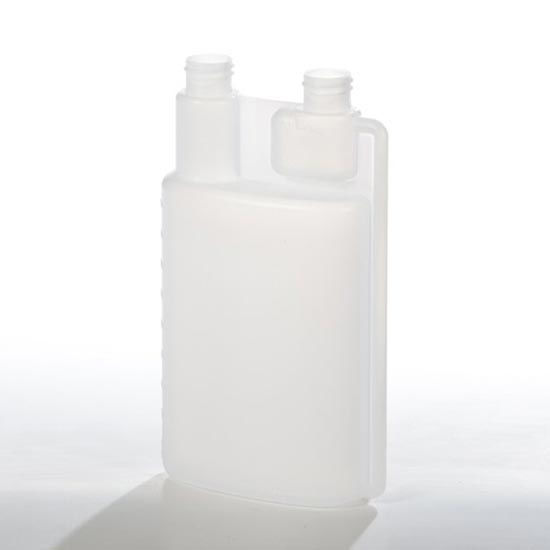 Picture of 16 oz Natural HDPE Twin Neck Bettix, 28-410, 57 Gram