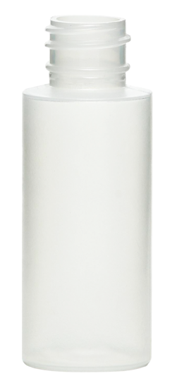 Picture of 2 oz White HDPE Cylinder Styleline, 24-410, 8.2 Gram