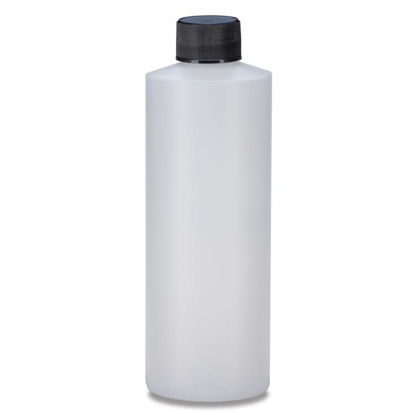 Picture of 12 oz Natural HDPE Cylinder, 28-410