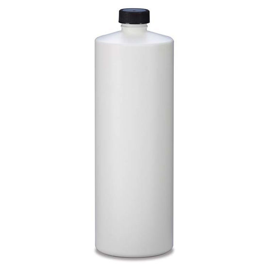 Picture of 32 oz White HDPE Cylinder, 28-410
