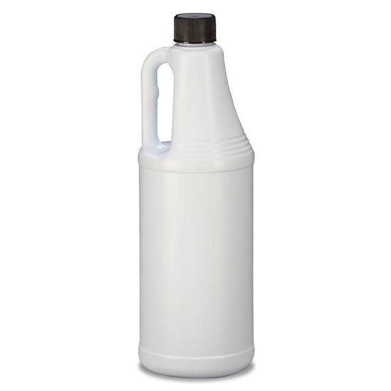 Picture of 32 oz White HDPE Handleware, 28-410