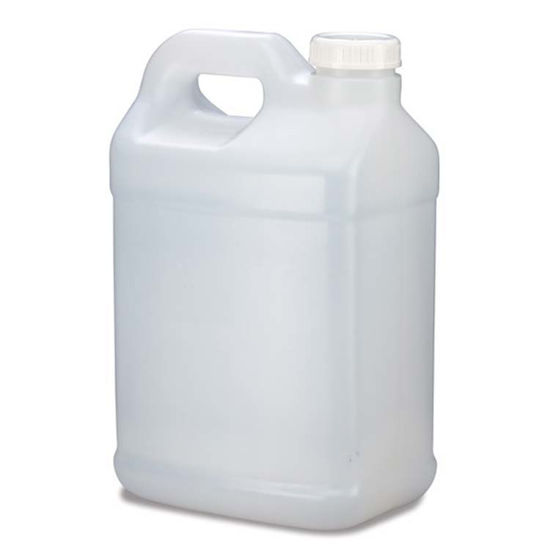 Picture of 2.5 Gallon Natural HDPE F-Style, 63 mm