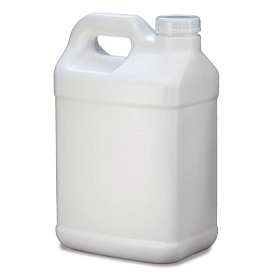 Picture of 2.5 Gallon White HDPE F-Style, 63-400, 2x1