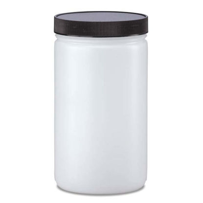 Picture of 32 oz Natural HDPE Wide Mouth Jar, 89-400