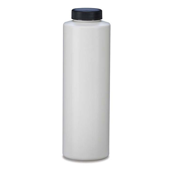 Picture of 16 oz White HDPE Cylinder, 38-400