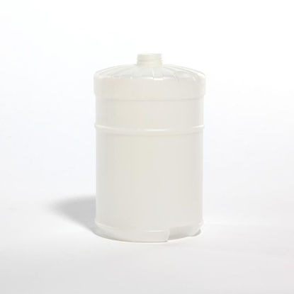 Picture of 128 oz Natural HDPE Flat Top, 38-400, 160 Gram