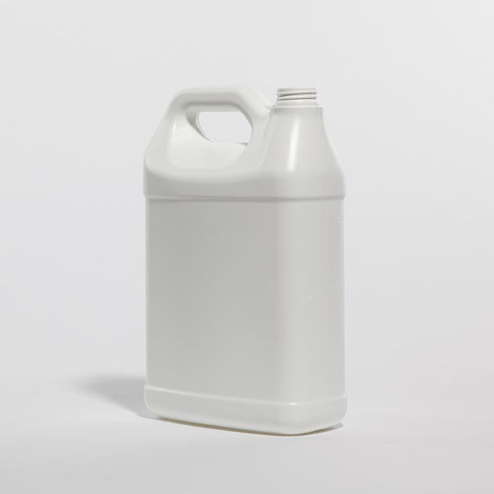 Picture of 128 oz White HDPE F-Style, 38-400 Rexam, 150 Gram