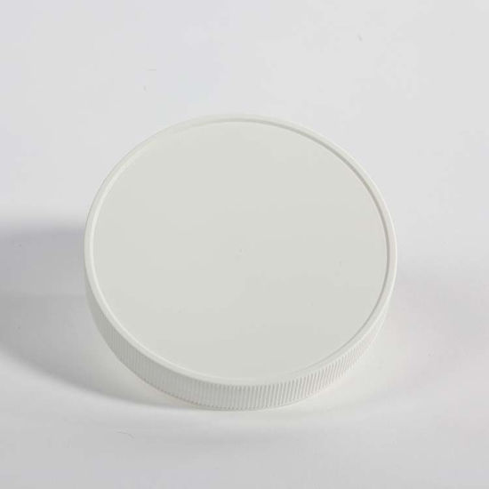 Picture of 110-400 White PP Matte Top, Ribbed Sides Cap with F217 Liner