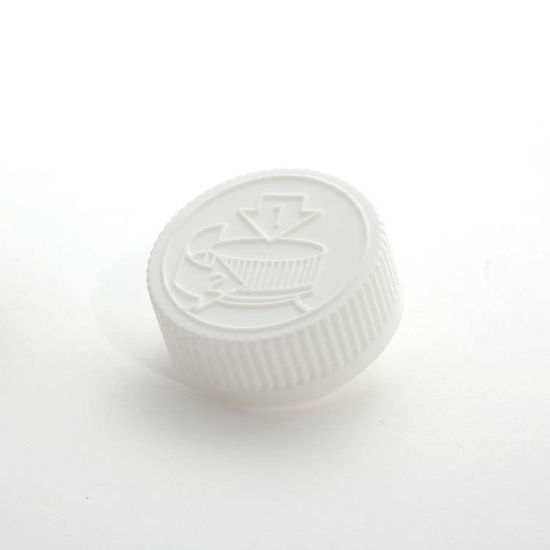 Picture of 38-400 White PP Child Resistant Cap with F217 Liner
