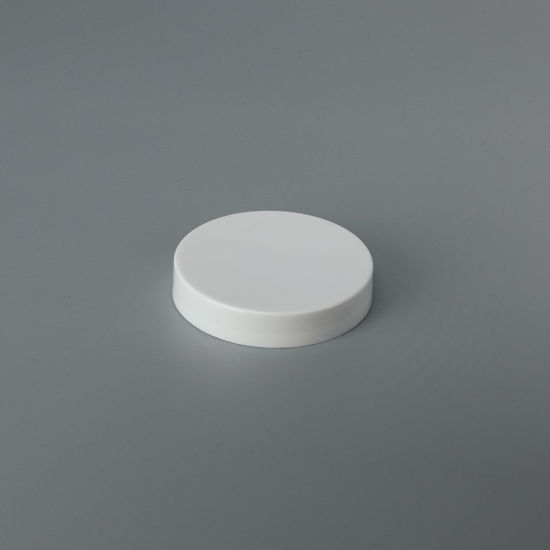 Picture of 58-400 White PP Smooth Top, Smooth Sides Cap with F217 Liner