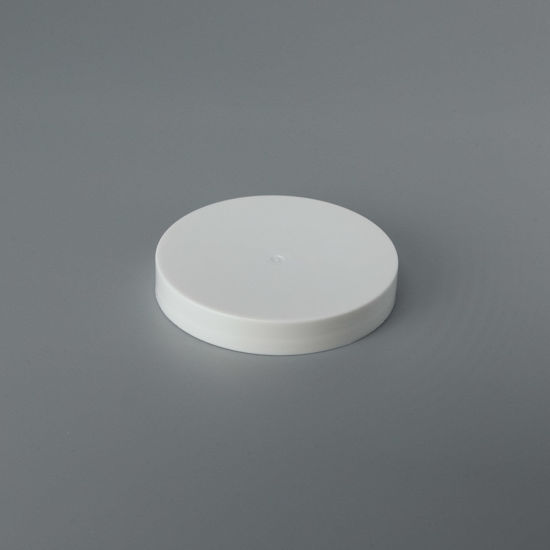 Picture of 70-400 White PP Smooth Top, Smooth Sides Cap