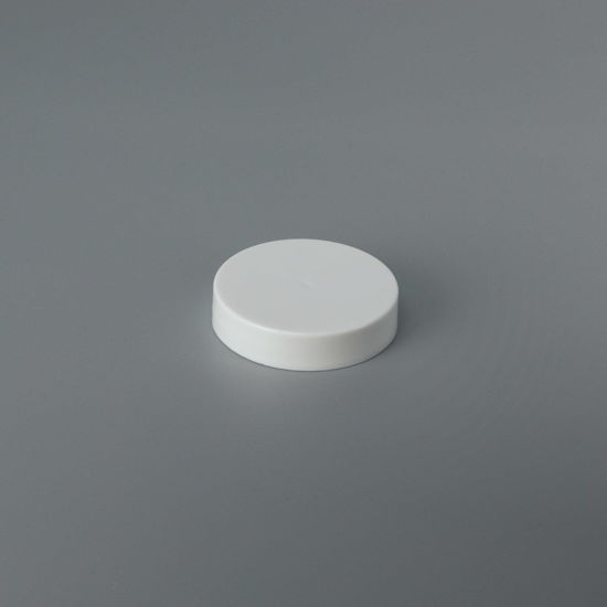 Picture of 48-400 White PP Smooth Top, Smooth Sides Cap with F217 Liner