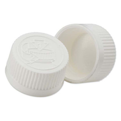 Picture of 24-400 White PP Child Resistant Cap with F217 Liner