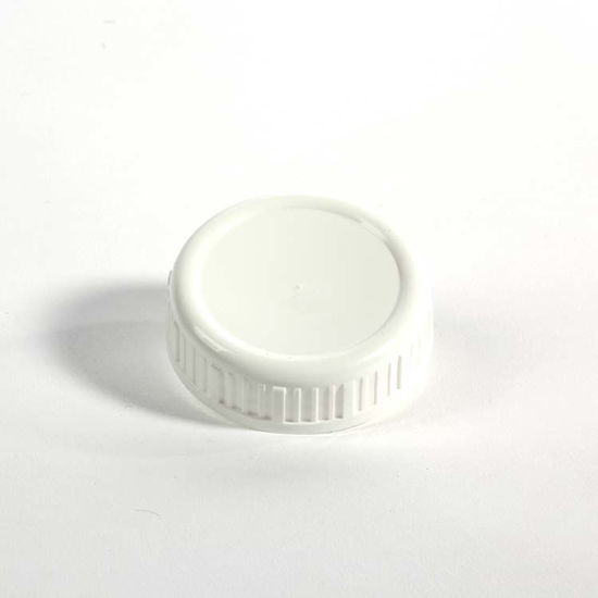 Picture of 63-485 White PP Heavy Weight Cap w/ F217 Liner