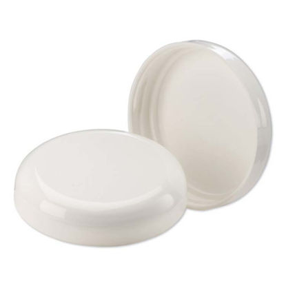 Picture of 70-400 White PP Dome Cap (Unlined)