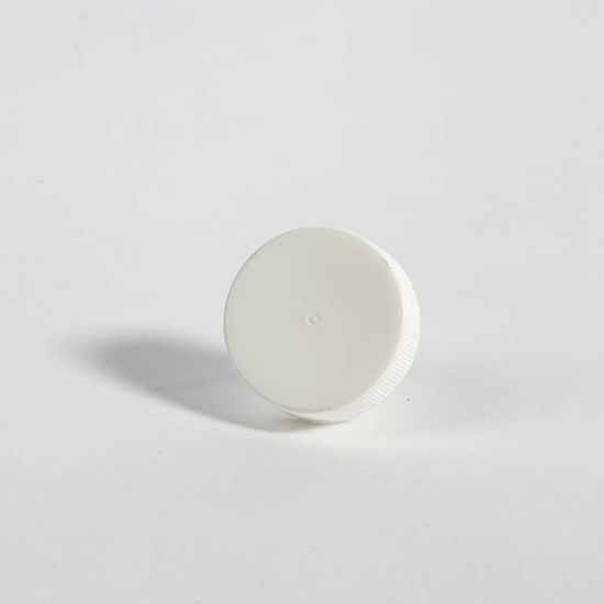 Picture of 38-400 White PP Screw Cap w/ Triseal Liner