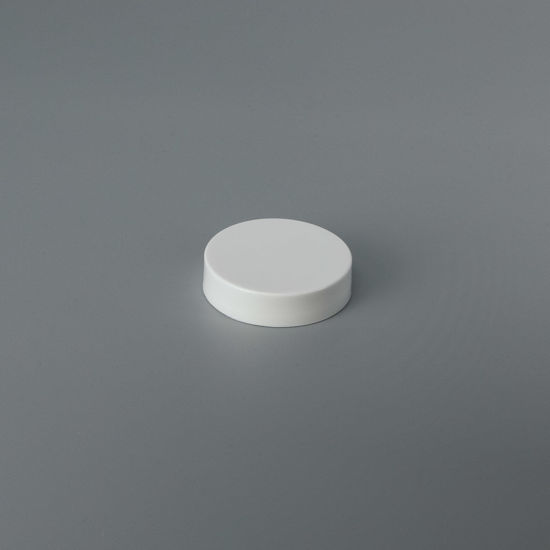 Picture of 43-400 White PP Smooth Top, Smooth Sides Cap