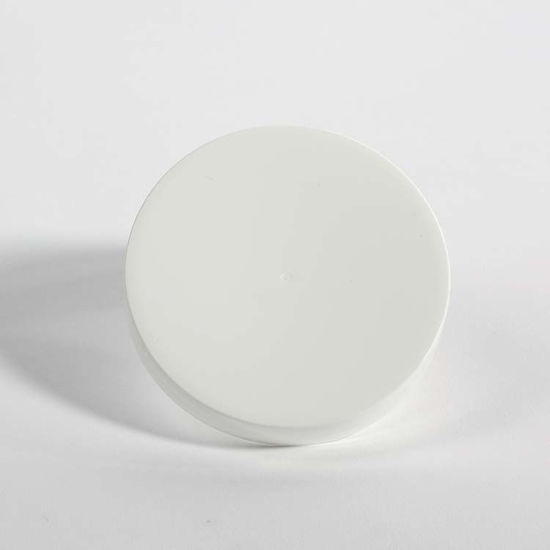 Picture of 89-400 White PP Smooth Top, Smooth Sides Cap (Unlined)