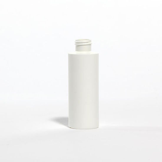 Picture of 4 oz White HDPE Cylinder, 24-410, 12 Gram