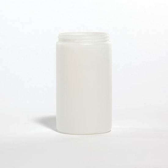 Picture of 32 oz Natural HDPE Wide Mouth Jar, 89-400, 62 Gram