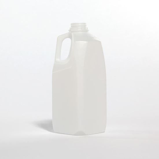 Picture of 64 oz Natural HDPE Dairy, 38 mm, 43 Gram
