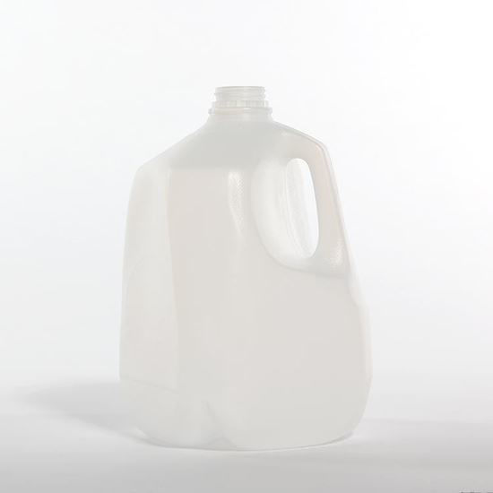 Picture of 128 oz White HDPE Dairy, 38-400, 65 Gram