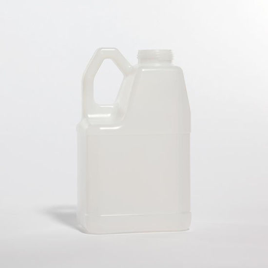 Picture of 128 oz Natural HDPE F-Style, 63-485, 190 Gram